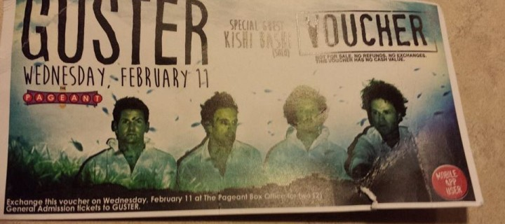 *GIVEAWAY* Win 2 Tickets to See Guster in St. Louis at the Pageant on 2/11
