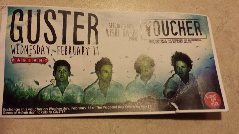 Guster Ticket Giveaway