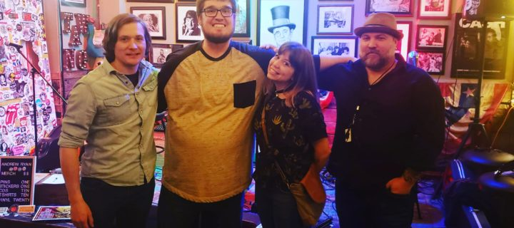 Episode 696 – Singer Songwriter Storytelling Showcase with Andrew Ryan, Jenny Roques & Brad Noe